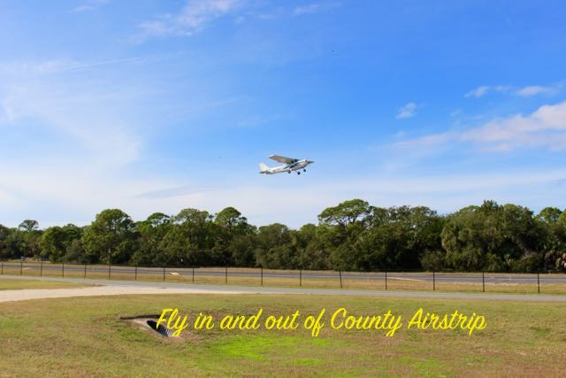 Fly in and out of County Airstrip