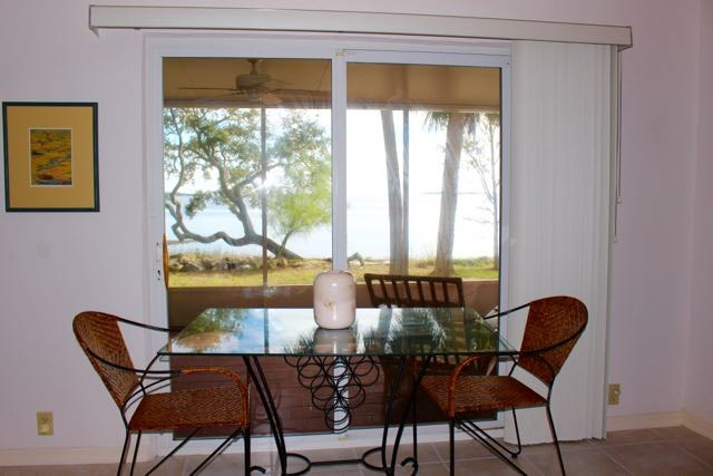 Dining Area with open Gulf View