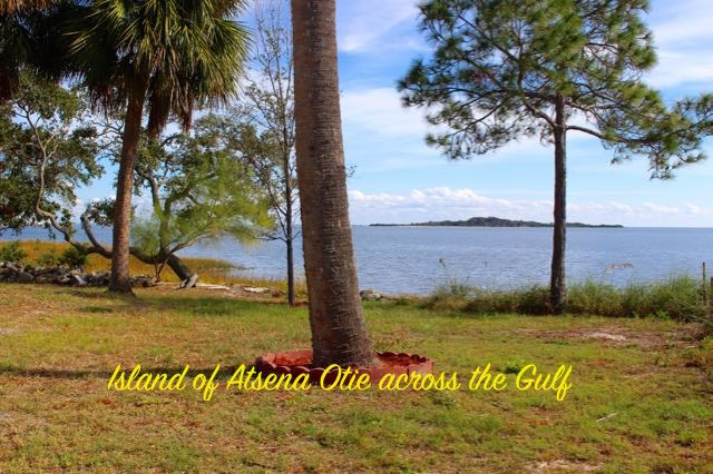 Island of Atsena Otie across the Gulf