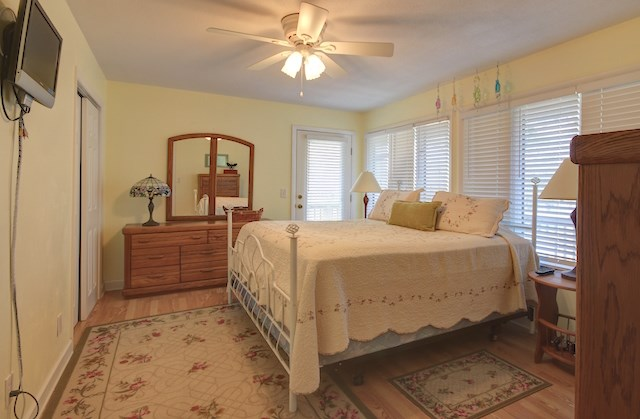 Master Bedroom overlooks Gulf